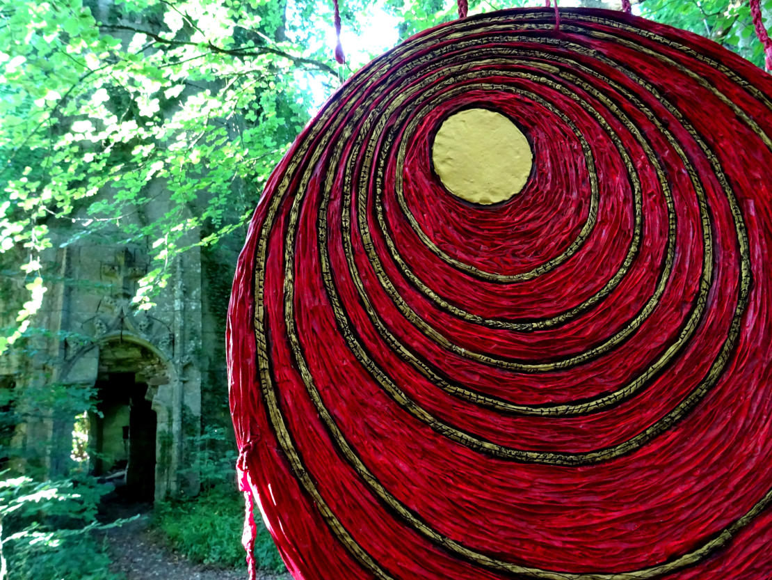 The Pilgrimage of the 13 Blood Moons - Installation by Lisa D. Robin